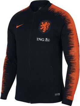 Nike Nederlands Elftal trainingsjack Heren Zwart