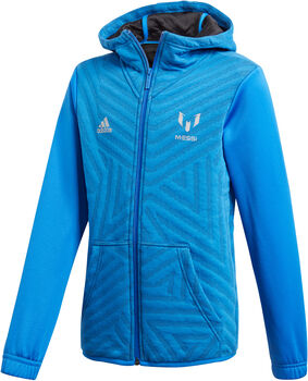 ADIDAS Messi hoodie Jongens Blauw