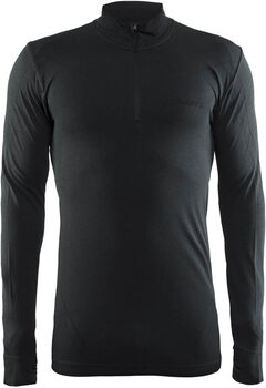 Craft Active Comfort Zip jersey Heren Zwart
