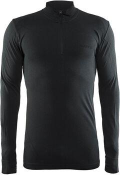Craft Active Comfort Zip jersey Heren Zwart
