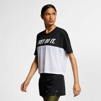 Nike Tailwind shirt Dames Zwart