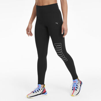 Puma Logo Graphic 7/8 tight Dames Zwart