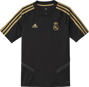 ADIDAS Real Madrid jr training shirt 2019-2020 Jongens Zwart