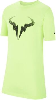 Nike Court Dri-FIT Rafa kids shirt  Jongens Geel
