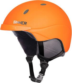 Sinner Titan skihelm Oranje