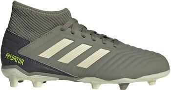 adidas Predator 19.3 FG jr voetbalschoenen Groen