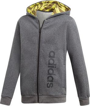 ADIDAS Linear hoodie Grijs