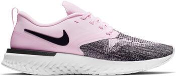 Nike Odyssey React Flyknit 2 hardloopschoenen Dames Roze