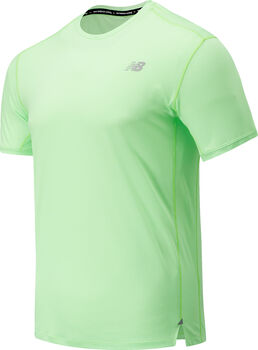 New Balance Impact Run shirt Heren Groen