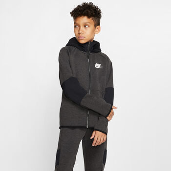 Nike Sportswear Tech Fleece Winterized jack Jongens Zwart