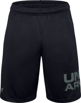 Under Armour Tech Wordmark short Heren Zwart