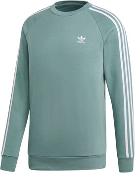 ADIDAS 3-Stripes Crew sweater Heren Zwart