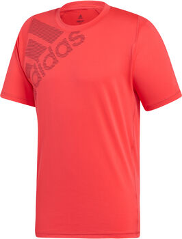 ADIDAS FreeLift Badge of Sport Graphic shirt Heren Oranje