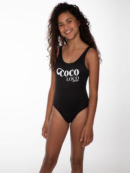 Protest Itske kids zwembroek Meisjes Zwart
