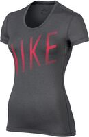 Nike Pro Cool top Dames Zwart