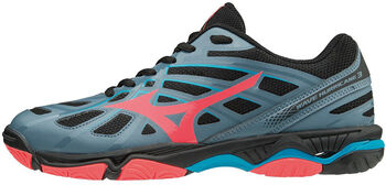 Mizuno Wave Hurricane 3 volleybalschoenen Dames Blauw
