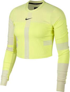 Nike RN Knit Tech Pack longsleeve Dames Geel