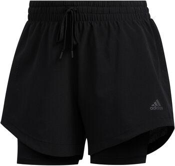 adidas 2in1 Woven short Dames Zwart