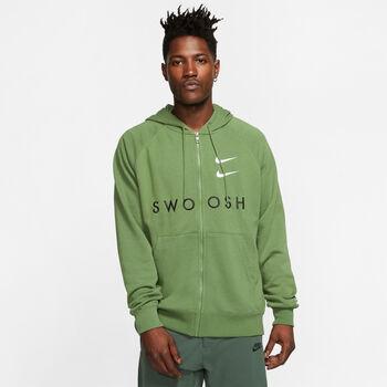 Nike Sportswear Swoosh hoodie Heren Groen