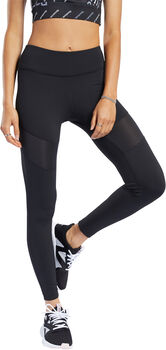 Reebok Workout Ready Mesh tight Dames Zwart
