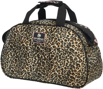 Brabo Leopard schoudertas Zwart