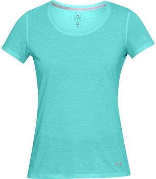 Under Armour Threadborne shirt Dames Blauw