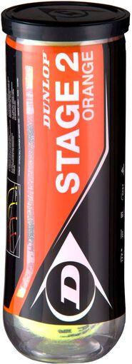 Dunlop - Stage 2 tennisballen - Unisex - Accessoires - Geel - 1SIZE