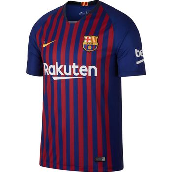 Nike Breathe FC Barcelona Home Stadium shirt Heren Blauw