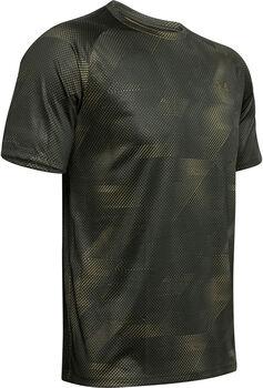 Under Armour Tech Printed 2.0 shirt Heren Groen