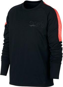 Nike Dry CR7 Crew shirt Zwart