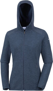 Columbia Coggin Peak™ FZ Hooded Fleece jas Dames Zwart