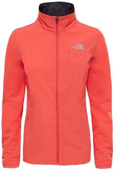 The North Face Extent softshell jack Dames Rood