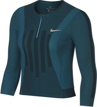 Nike Court Zonal Cooling Slam shirt Dames Blauw