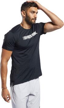 Reebok ACTIVCHILL Move t-shirt Heren Zwart