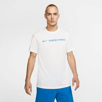 Nike Pro Dri-FIT shirt Heren Wit