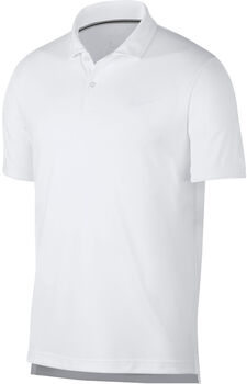 Nike Dry Polo Team shirt Heren Wit