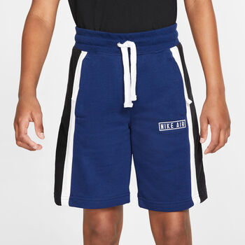 Nike Air jr short Jongens Blauw