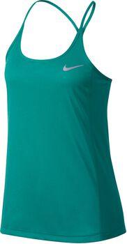 Nike Dry Miler Running tank Dames Groen