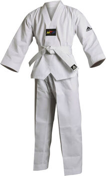 adidas taekwondopak incl. 120 cm band Wit