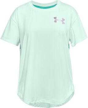 Under Armour HeatGear® Armour kids t-shirt  Meisjes Blauw
