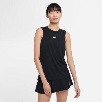 Nike Court Advantage top Dames Zwart