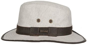 Hatland Richmond Linen hoed Grijs