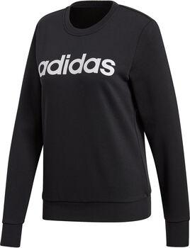 ADIDAS Essentials Linear sweater Dames Zwart