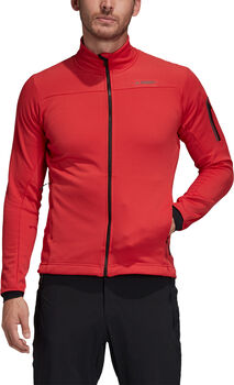 adidas Terrex Stockhorn Fleece jack Heren Rood