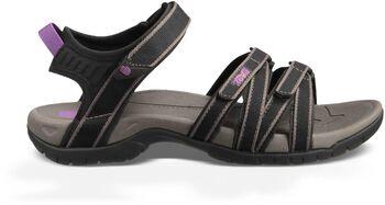Teva Tirra sandalen Dames Zwart