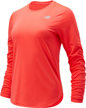 New Balance Accelerate longsleeve Dames Rood