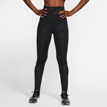 Nike Air 7/8 Running legging Dames Zwart