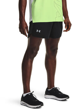 "Under Armour Launch Run 5"" Short Heren Zwart"
