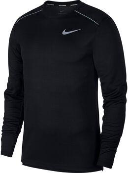 Nike Dry Miler shirt Heren Zwart