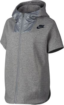 Nike Advance 15 hoodie Dames Zwart